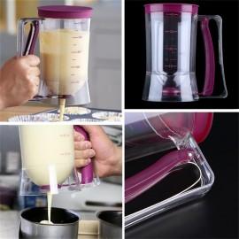 900ml Cupcake Pancake Cake Batter Dispenser Mix Pastry Jug Baking Maker Tools