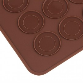 48 Silicone Macaron Macaroon Pastry Cookie Muffin Oven Baking Mat Sheet