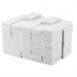 100pcs 100 x 60 x 20mm Magic Sponge Cleaner Super Decontamination Eraser