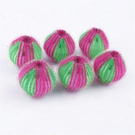 6 Pcs Hair Grabbing Laundry Washing Machine Clothes Softener Laundry Balls