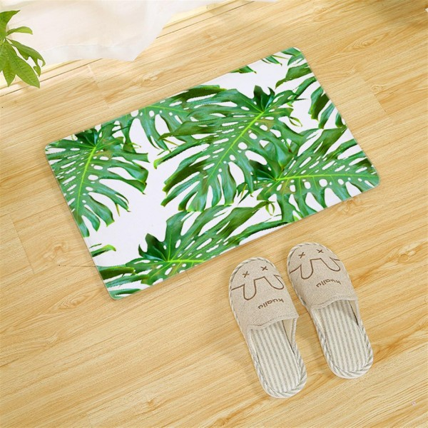 Add 40*60CM thick foot pad to the tropical rain forest memory resilient mat door mat 1