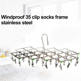 Windproof Stainless Steel Swivel Clothes Hanger Or..