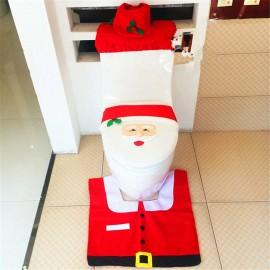Christmas Gift Santa Toilet Seat Cover