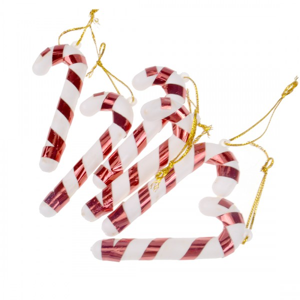 Christmas Candy Walking Stick 6 in 1 Pack